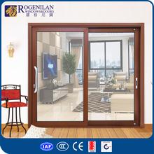 Rogenilan large marine aluminum frame tempered glass industrial sliding door