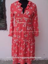 impreso raso rojo rosa batas de vestir elegante hecho n hermoso vestido de noche vestido de cóctel