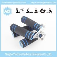 2015 Hot Sale New Foam Hand Grip Fitness Exercise Wrist Arm Train Strength Builder Wrist developer Pinch meter
