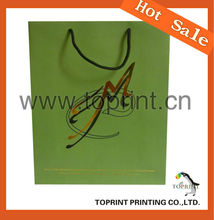 recycle/reusable paper bag for shopping Reusable paper Shopping Bag