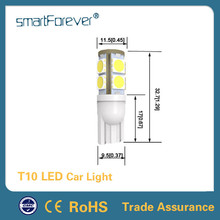 4500k White 12V W5W LED Canbus Light With CE RoHS