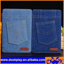 Fashion Cowboy Case for iPad Mini Jean Cover PU Leather