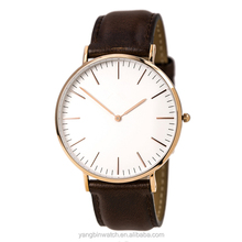 unique good looking gift item stainless steel watch with fashion design