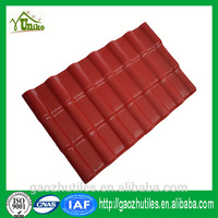 Temples color coated plastic synthetic antique chinese roof tile