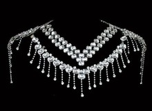 nueva joyería de la boda diseños de novia lado a otro