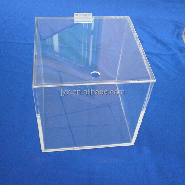 Acrylic Boxes Small : Mm small clear acrylic box with lids wholesale