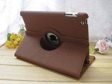 [Wholesale]Leather Case Back Cover for ipad2/3/4 for ipad air #A1077 /Ship within 24-48hours, moq 1piece