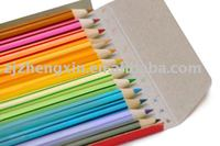Multicolorful Pencils,kids stationery products,pencils colored 12 pack in paper box