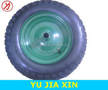 14 inch tires small pneumatic rubber wheel 3.50-8