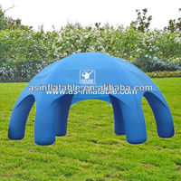 8m new design very beautiful Inflatable advertising air tent big