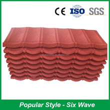 Environmental Protedtion Kerala Stone Coated Metal Roof Tile
