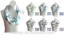 venta al por mayor de moda belleza más barato infinty niñas bufanda