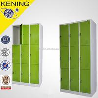 Multi door steel Electronic coin operated lockers in beach