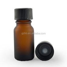 in Stock eliquid bottles 20ml amber boston round glass bottle with black bakelite lid