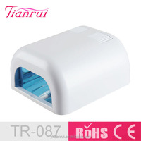 Professional 36W UV Lamp And Fan 110V UV Nail Art Gel Curing Polish Lamp Dryer with 4 Tube Lamps