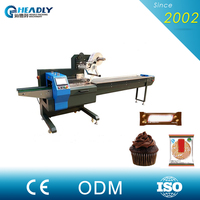 Online Shop Alibaba Low Price Cup Cake Flow Packaging Machine