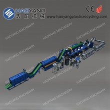 high quality plastic waste recycling machine/pe film washing line/buys waste plastic for recycling