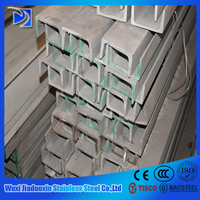 industrial 304 stainless steel box channel steel