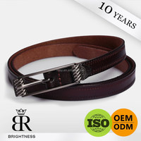 Custom championship noble personality leather belts without holes Brightness H1-80109