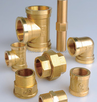 "high quality 1/2 ""female tee/ bras female elbow /1/2"" 3/4""brass hex nipple/forged pipe fittings tee iron female tee"