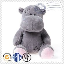 2015 Colorful various style stuffed toy hippo