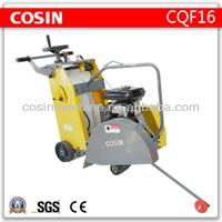 Cosin CQF16 petrol honda concrete cutter for asphalt road and concrete road