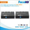 Foxun's 120m HDMI Over lan extender RS232 pass through Full HD 1080p with POE