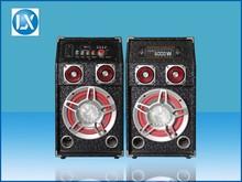 hi-fi concert 2.0 channel active multimedia amplified speaker system