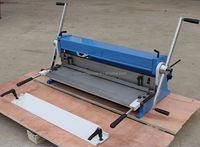 3-IN-1/1320 Combination of Shear, Brake and Roll Machine, Sheet Metal Forming Machines