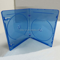 14mm blue ray dvd box for 6 discs/14mm 6 discs blue ray dvd case