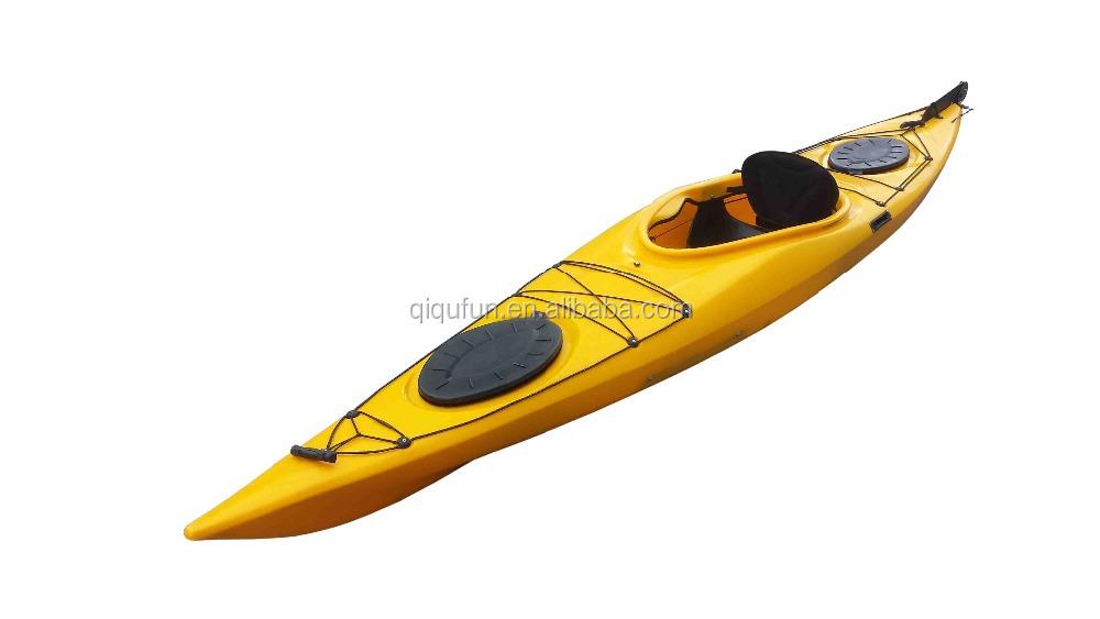 2015 cheap plastic fishing kayak foldable rowing boat on for Best cheap fishing kayak