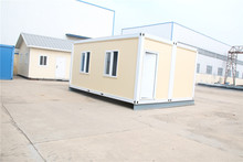 sandwich prefabricated mobile cheap light steel structure house for workers dormitory and office