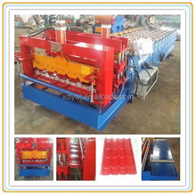 Rib Double Metal roof tiles , Double layer roof machine popolar in china