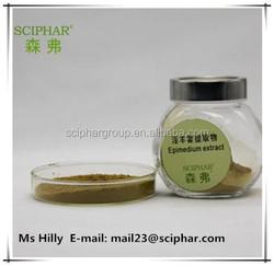 High Quality Epimedium Sagittatum Extract Powder Free Sample