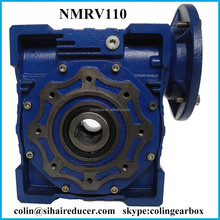 NMRV110 Wrom Gear Box Speed Reducer Machine