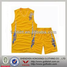 Cheap printing basketball wear for yuong men