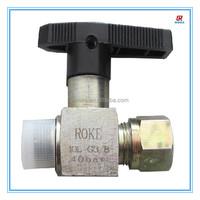 "10mm L - G3/8"" 40 bar stainless steel 316 ball valve"