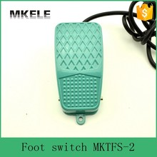 MKTFS-2 CE standard Top Quality Tattoo Foot switch,easy control lamp foot switch,main electric foot switch with push buttons