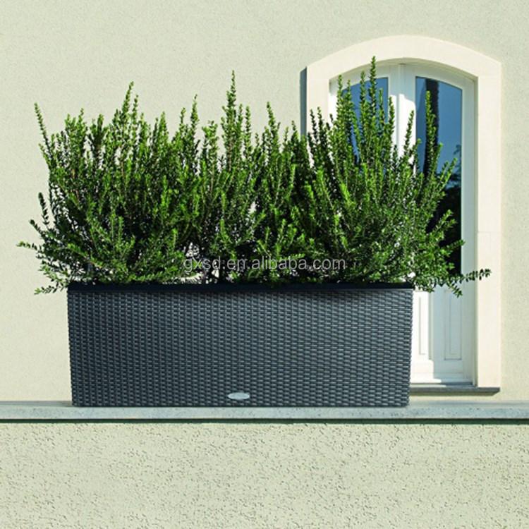 S&D balcony plastic rectangular long garden flower pots,flower pot stand (15).jpg