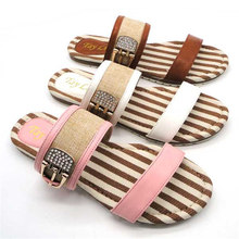 with jewele washable and disposable slippers
