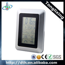 RF Remote Wireless Weather Station Forecaster Clock