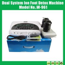 çift Sustem iyon ayak detoks makinesi, ayak bakımı elektrikli ayak spa