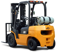 HC 2.5 ton R Series Gasonline/LPG Dual Fuel Forklift Truck
