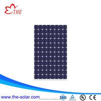 High quality light weight solar panel