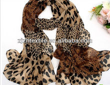 2015 wild Lady's silk long scarf