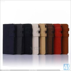Cheap Price PU Leather Cover With Card Slots Phone Leather Wallet Case For Samsung Galaxy S6