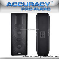 Dual 15 Inch Wood Speaker Cabinet 2 Ways Speaker APA215L