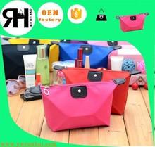 Manufacture Wholesale Nylon Cosmetic Bag Women makeup kits
