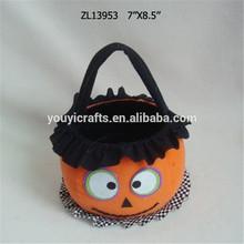 De halloween cesta de dulces