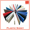 Hot sale transparent colored plastic sheet thin manufacturer in china